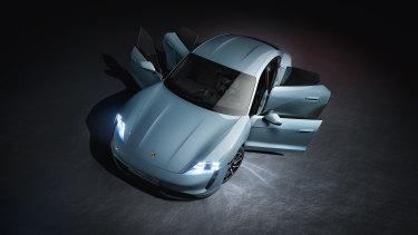 The Porsche Taycan.