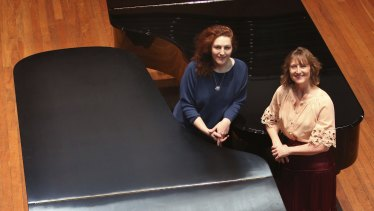 Pianists Tamara-Ann Cislowska and Bernadette Harvey will be performing in 12 Hands, 6 Grands.