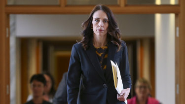 New Zealand Prime Minister Jacinda Ardern declared a state of national emergency to fight COVID-19 on March 25.