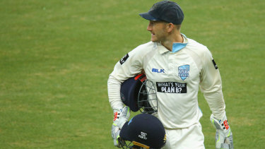 Peter Nevill could return in the Sheffield Shield final.
