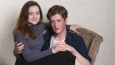 Claudia Elbourne and Oliver Ryan star in Sport for Jove's production of Romeo and Juliet.