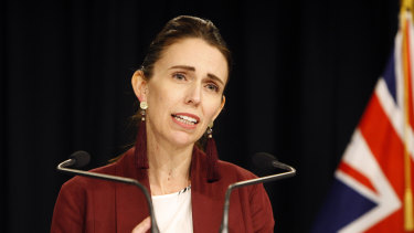 Passionate defence: Jacinda Ardern spoke in favour of the abortion bill.