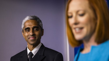 Vivek Murthy, US Surgeon General, said now is the time for a vaccine booster program.