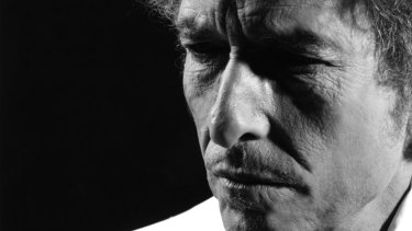 Bob Dylan: in a spectral state that's more a beginning than an end.