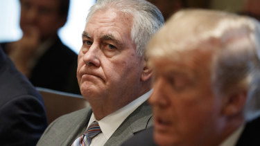 Former US secretary of state Rex Tillerson said Trump was out-prepared by Putin.