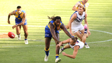 The round 22 western derby could provide an insight into the short-term futures of West Coast and Fremantle.