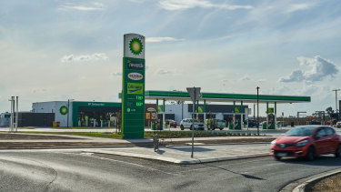 The servo, next door to a new McDonalds, has a 15 year lease to BP.