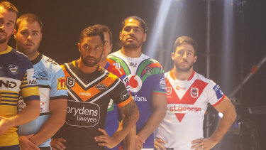 NRL players are waiting to return to competition in 2020.