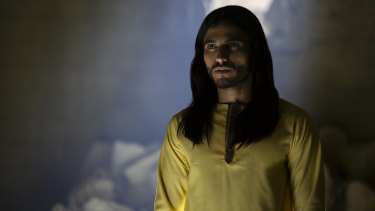 Mehdi Dehbi plays the unknown preacher  Al-Massih in Preacher.