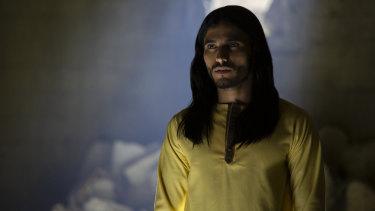 Mehdi Dehbi plays the unknown preacher  Al-Massih in Preacher.