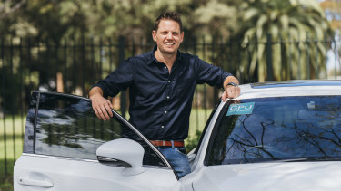 Daniel Rombouts, head of airport rideshare competitor Get Picked Up.