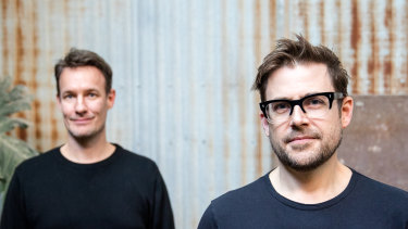 Pyn co-founders Joris Luijke and Jon Williams launched the startup drawing on their experiences at Atlassian and Culture Amp.