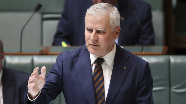 Acting Prime Minister Michael McCormack pictured in December.