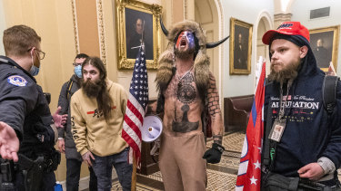 Social media companies banned US President Donald Trump when he incited protestors who stormed the Capitol building.