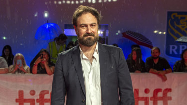 Director Justin Kurzel at the premiere of True History of the Kelly Gang in Toronto.