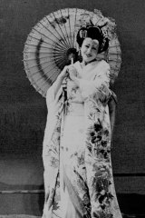 Michael Stennett costume in The Australian Opera's production of Madama Butterfly by Puccini.