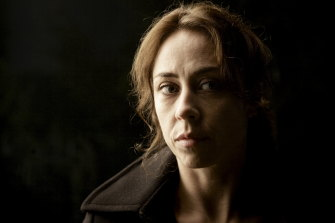 Sofie Grabol as Sarah Lund in The Killing.