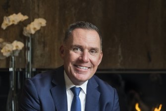 Accor Pacific's chief operating officer Simon McGrath has support among clubs to succeed Todd Greenberg as NRL boss.