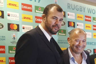 Michael Cheika and Eddie Jones have both long been keen students of rugby league.