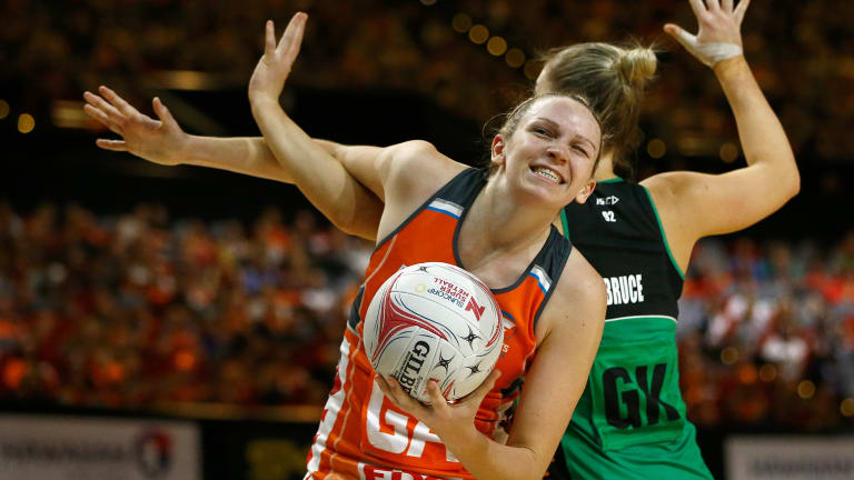 Round two: The Giants welcome the Fever for the second time in a week on Saturday.