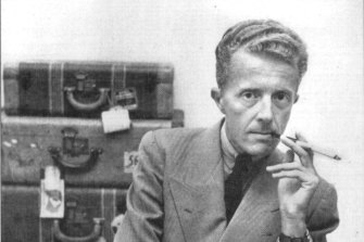 Paul Bowles, author of The Sheltering Sky, seen in 1952.