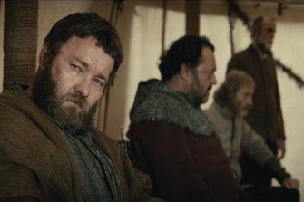 Joel Edgerton, who wrote the screenplay with David Michod, plays Sir John Falstaff in The King.