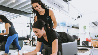 Pilates studios continue to grow in popularity.