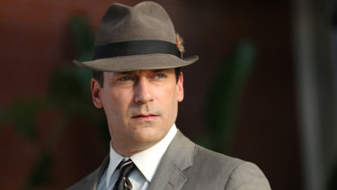 John Hamm may have a spot of bother finessing his Mad Men-style alpha male into a Batman for our times.