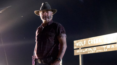 John Jarratt is best known for his role in Wolf Creek.