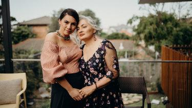Jill Emberson (right) with her daughter Malia Emberson-Lafoa'i.