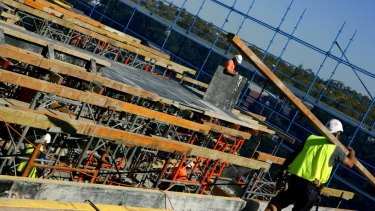 Out of the 37 infringement notices handed out by WorkSafe ACT, 36 came from construction sites.