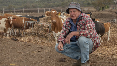 An El Nino can point to a dry spell for eastern Australia - which would be bad news for dairy farmers such as Brendan Hayden, from Pilton, Queensland, who are already being forced to provide fodder for their herds.