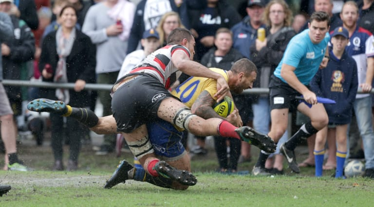 The Vikings edged out Quade Cooper (pictured) and Brisbane City to book their spot in the finals.