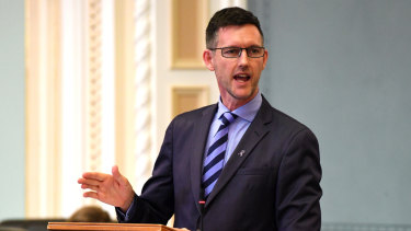 Transport Minister Mark Bailey has warned motorists to stay out of Games lanes, or risk a fine.