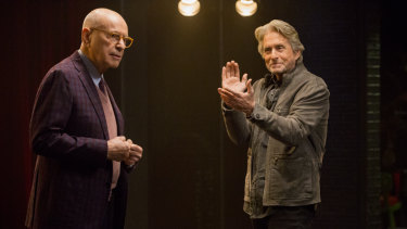 Alan Arkin and Michael Douglas play best friends in the show.