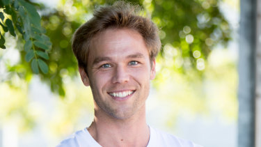 Soap star Lincoln Lewis.