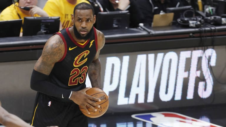 Possible move: LeBron James' future in the NBA has been a topic of constant speculation.