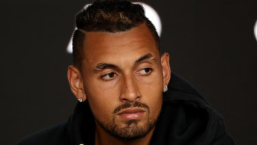 Injury has again forced Nick Kyrgios (knee) to pull out of the Rotterdam open.
