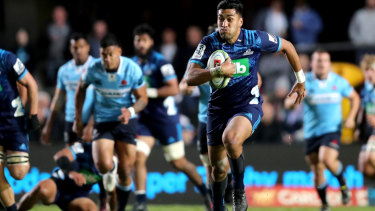 Thriller: The Waratahs will be hoping to end up on the right side of the ledger against the second Kiwi opponent they have taken to Brookvale Oval.