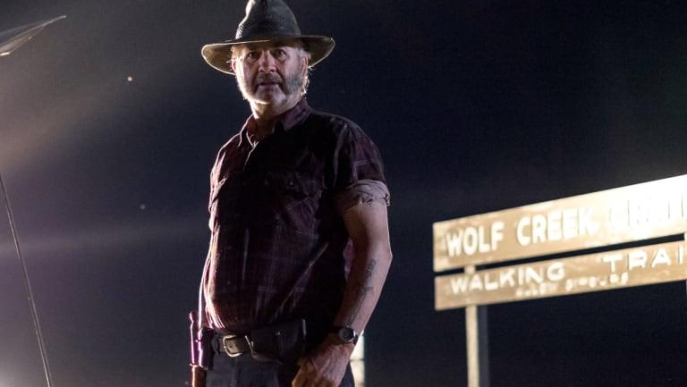 John Jarratt is best known for his role in Wolf Creek.