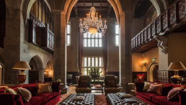 The impressively restored Adare Manor, Limerick, Ireland.