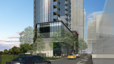Artist's impression of development approved for 7 Wightman Street Footscray.