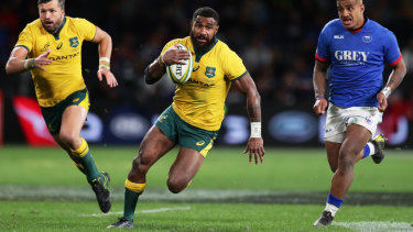 Marika Koroibete says he is ready to repay the opportunity Australia has given him at the World Cup.