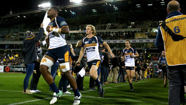 The Brumbies are hoping fans will come back to Canberra Stadium.