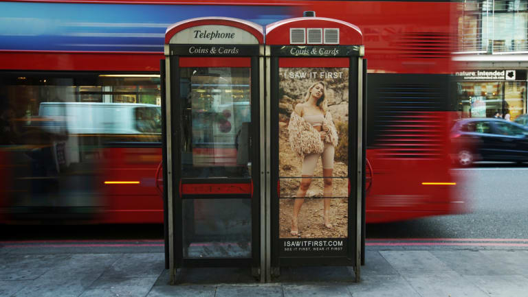 Critics complain that phone companies are turning drab, '90s-era phone boxes into glorified billboards that are becoming an eyesore on London streets.