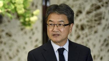 US special envoy for North Korea policy Joseph Yun.