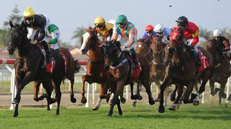 Today's racing action is back in Newcastle.