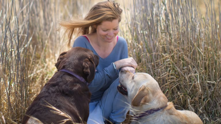 Kristie Ainsworth breeds Labrador retrievers. She says her first dog Sophie helped her to keep fighting cancer as a teenager when she felt she couldn't go on.