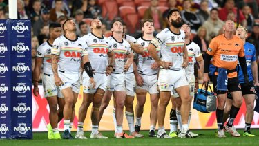 Mountain to climb: The Panthers were 'immature' in their loss to the Broncos according to coach Ivan Cleary.
