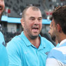 'He can't speak Spanish that well': Hooper takes cheeky shot at old mate Cheika